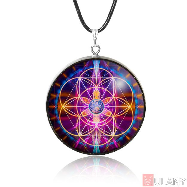 Picture of Mulany MN310 New Earth EMF Protection Orgone Pendant