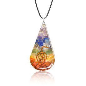 Picture of Mulany MN113 Chakra EMF Protection Orgone Pendant