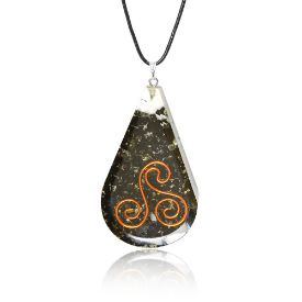 Picture of Mulany MN114 Tourmaline EMF Protection Orgone Pendant