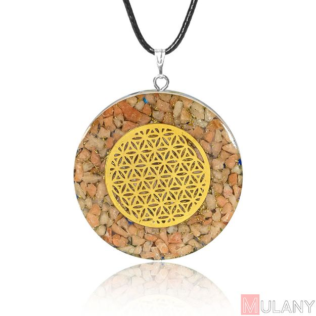 Picture of Mulany MN118 Healing EMF Protection Orgone Pendant