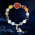 Picture of Mulany MB8057 Multicolor Stone With Fox Charm Healing Bracelet