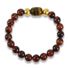 Picture of Mulany MB8033 Tiger Eye Stone Healing Bracelet